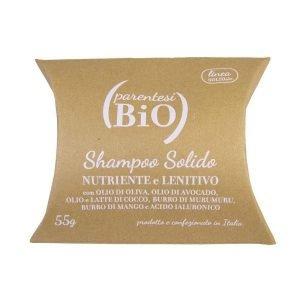 Parentesibio, Shampoo solido nutriente bianco