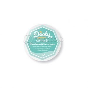 Deoly, deodorante in crema, so fresh
