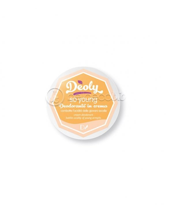 Deoly, deodorante in crema, so young